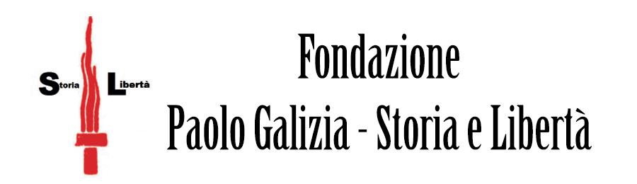"""Fondazione """"Paolo Galizia – Storia e Libertà"""" logo"""
